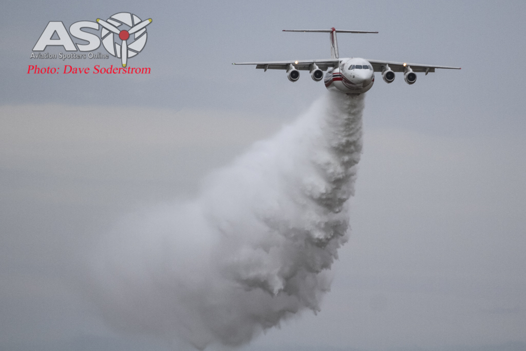 Aerial Firefighting Demonstration Avalon Airshow 2015