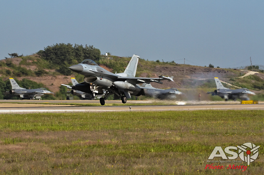 Mottys 111FS ROKAF KF-16 Kunsan 2015 0650