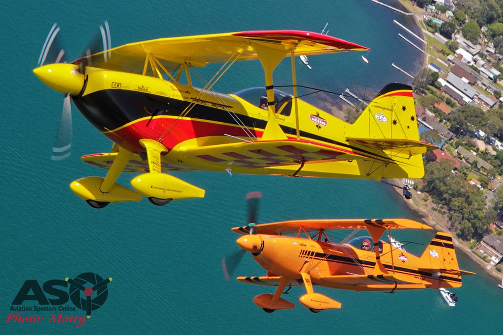 Mottys Paul Bennet Wolf Pitts Pair A2A VH-PVB VH-PVX-054