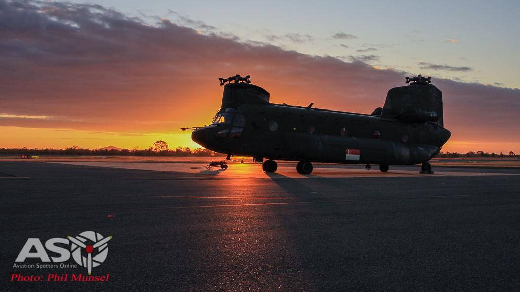 RSAF CH-47D Chinook