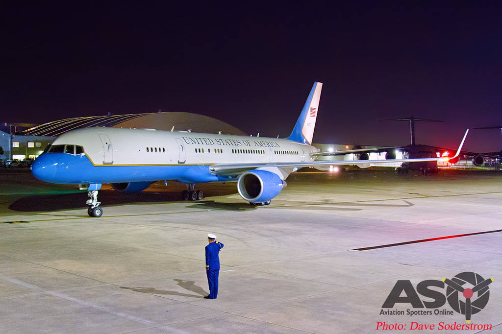 USAF 98-80001 C-32 ASO Melb Airport 2 (1 of 1)-DTLR-1-001-ASO
