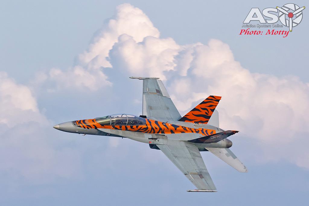 Mottys-2OCU 2019 Tiger Special FA-18B Hornet A21-116-00118-ASO