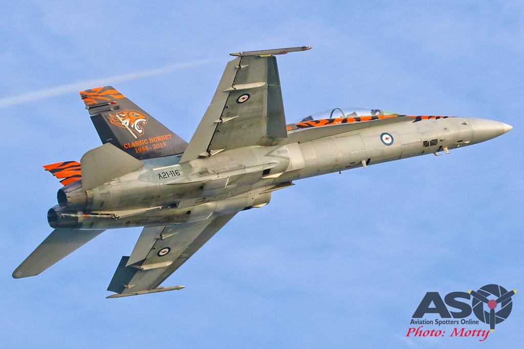 Mottys-2OCU 2019 Tiger Special FA-18B Hornet A21-116-00192-ASO