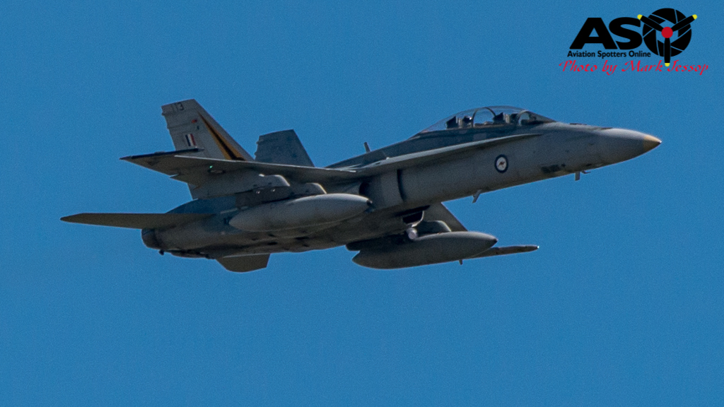 F-A-18A low level Western Airspace tank run-1