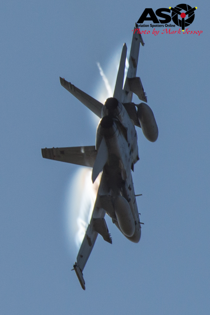 F-A-18A low level Western Airspace tank run-26