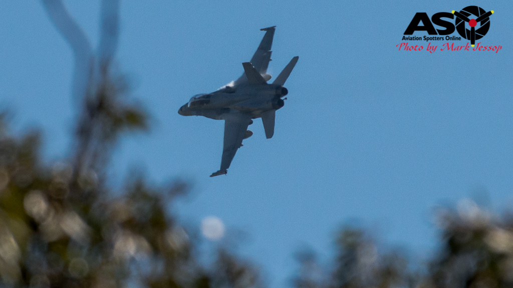 F-A-18A low level Western Airspace tank run-6