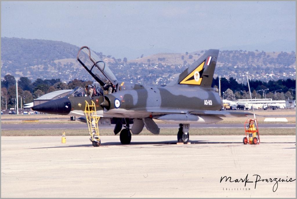 Dassault Mirage IIID  A3-113 RAAF  Base Fairbairn