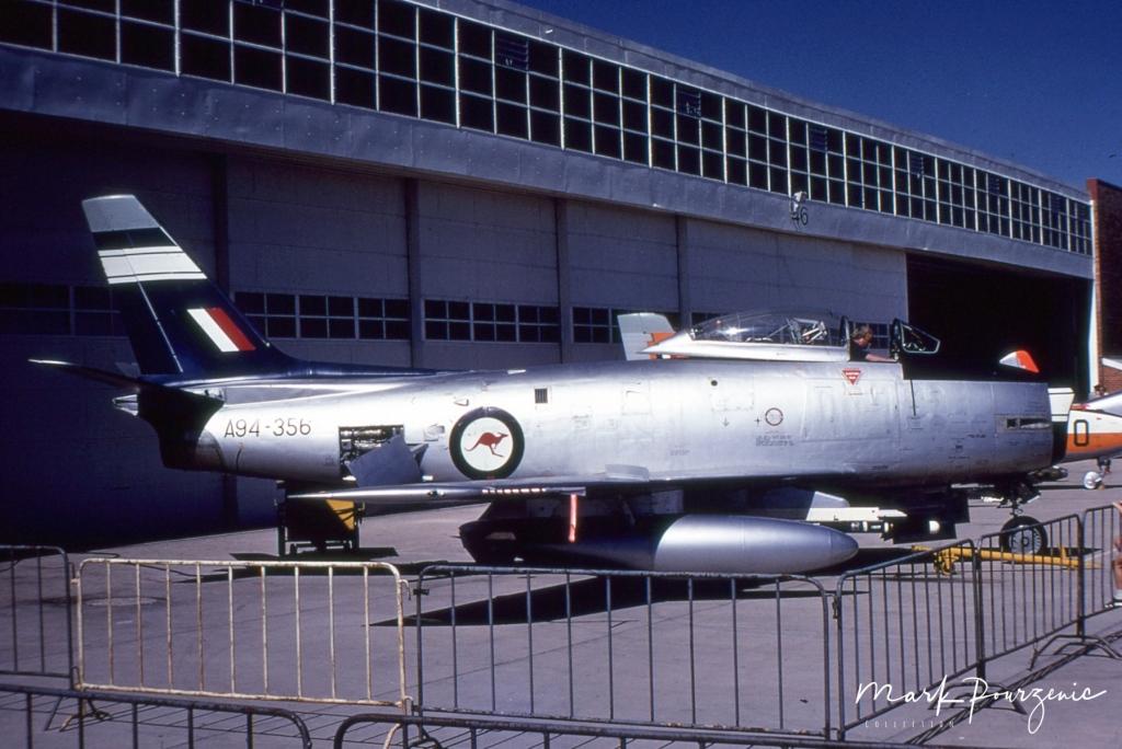 CA27 Mk.32 Sabre A94-356 5OTU Markings  RAAF Forest Hill