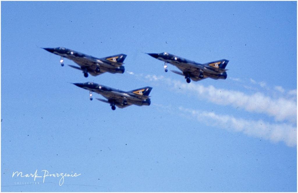 Dassault Mirage IIIO 2OCU Formation Team circa 1970\'s