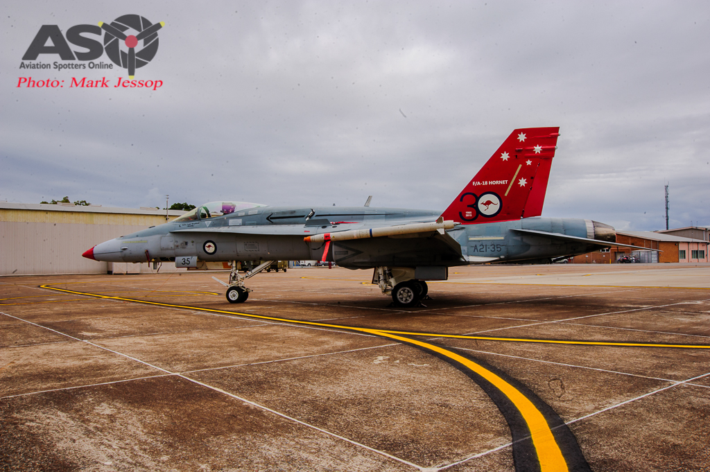 30th Anniversary Hornet A21-35 walk around-6997