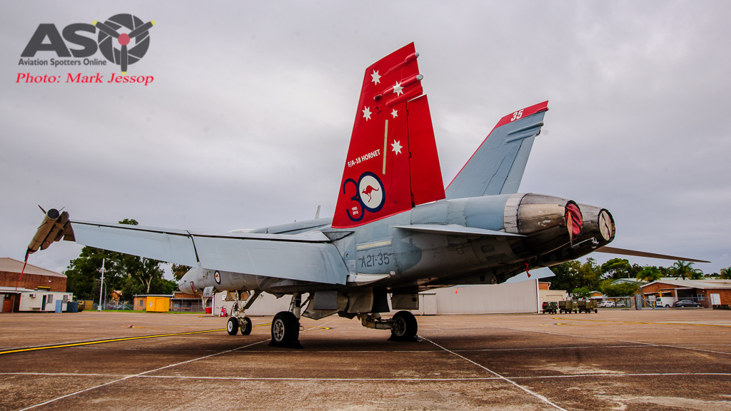 30th Anniversary Hornet A21-35 walk around-7000