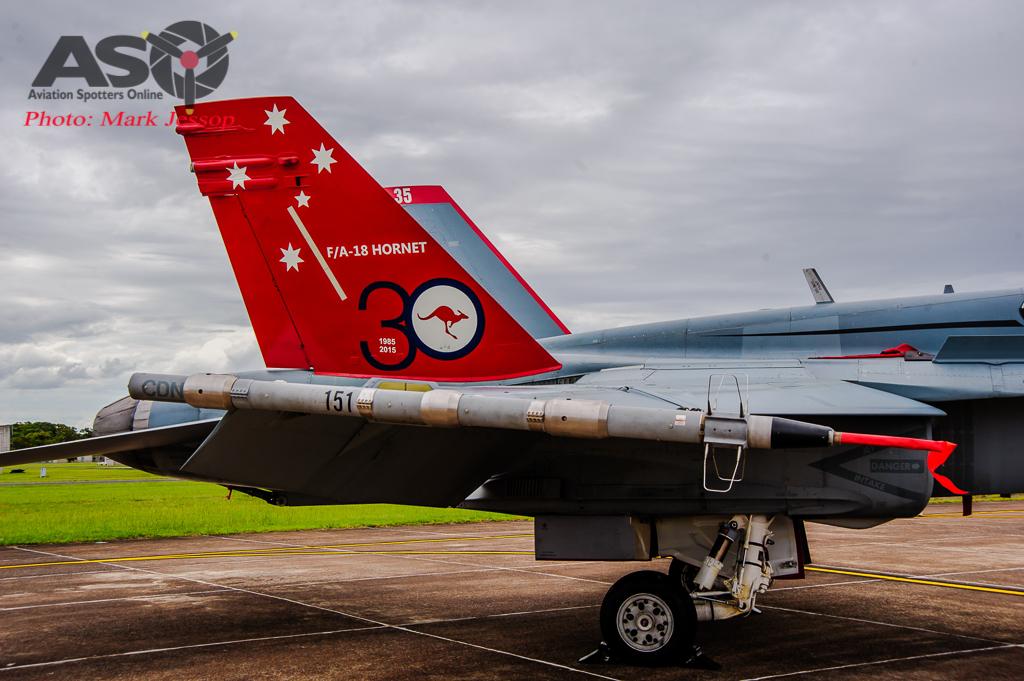30th Anniversary Hornet A21-35 walk around-7038