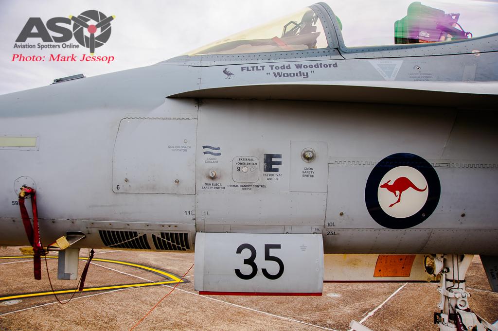 30th Anniversary Hornet A21-35 walk around-7059