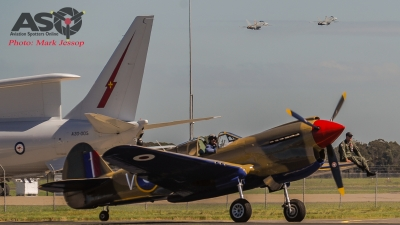 P-40E CV-C taxing back in while the latest fighters head out