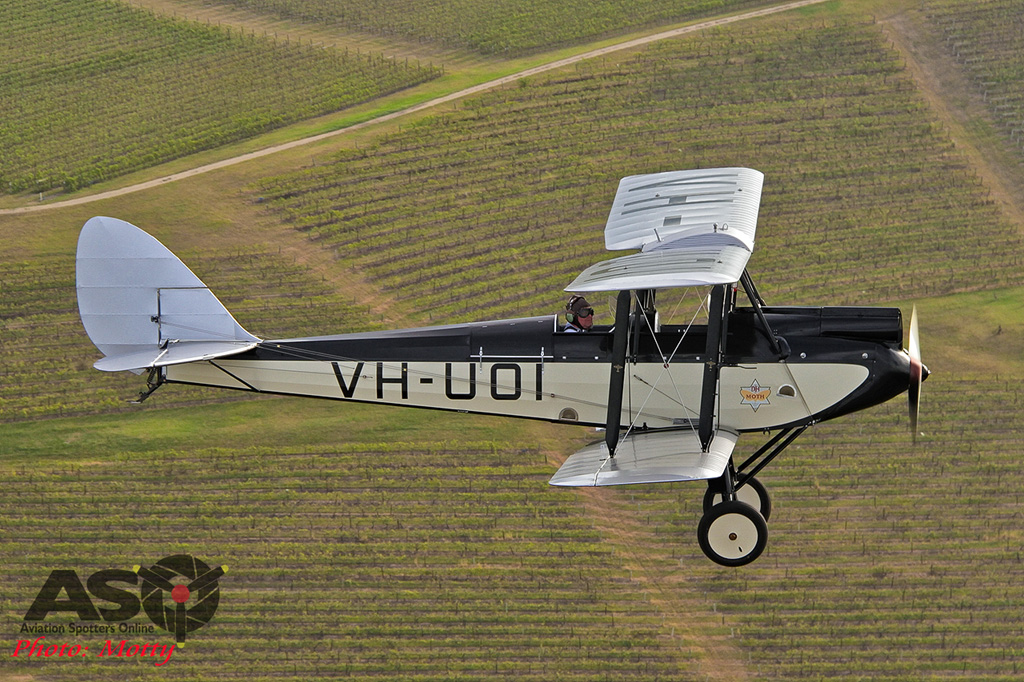 Mottys DH-60M Gipsymoth VH-UOI-028