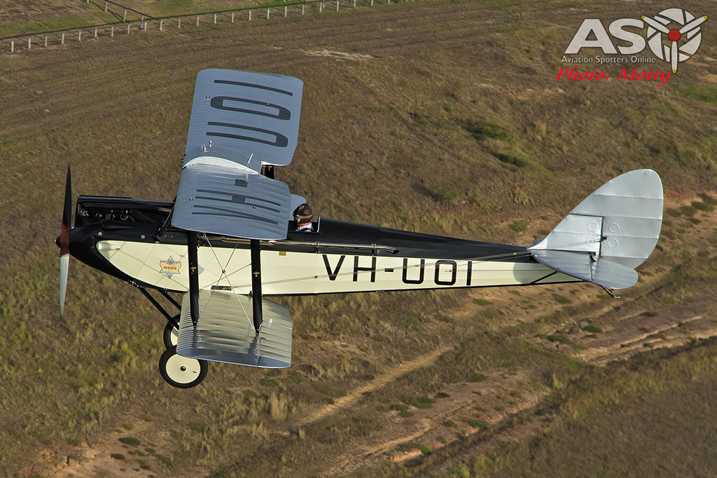 Mottys DH-60M Gipsymoth VH-UOI-039