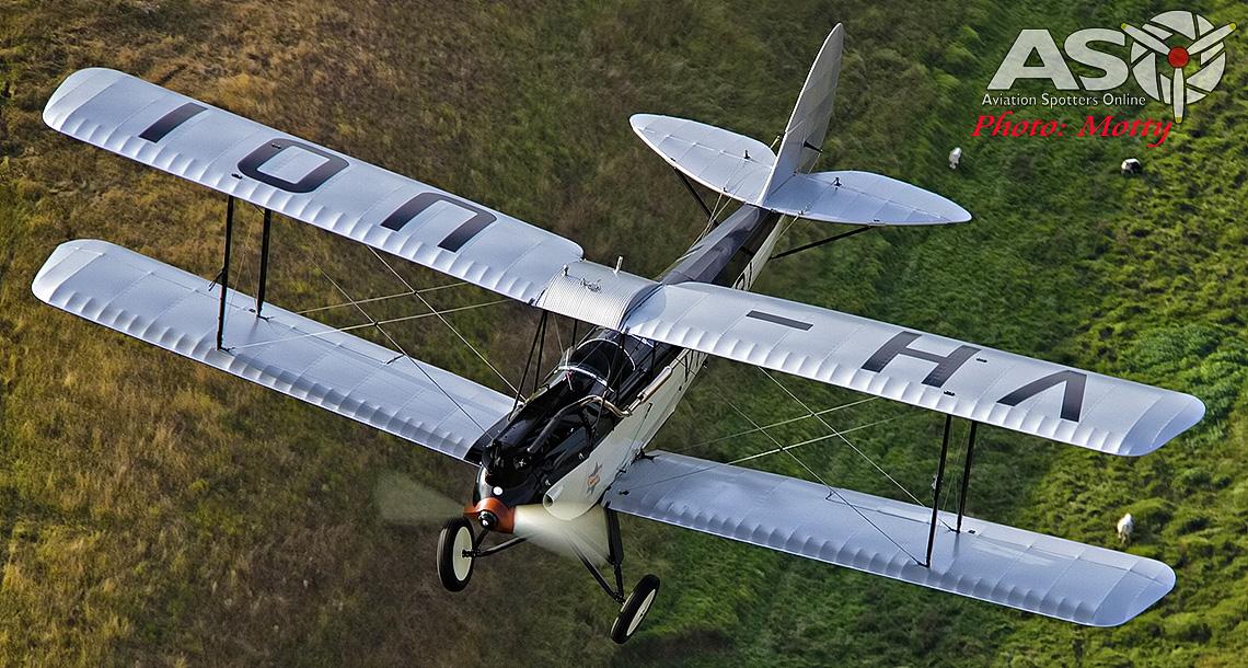 Mottys DH-60M Gipsymoth VH-UOI-053-Header