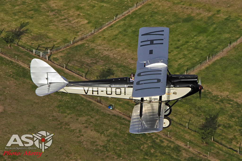 Mottys DH-60M Gipsymoth VH-UOI-058