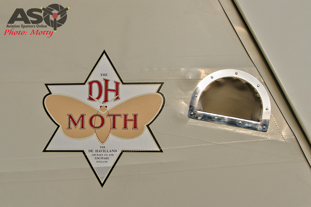 Mottys DH-60M Gipsymoth VH-UOI-101