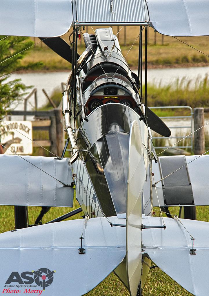 Mottys DH-60M Gipsymoth VH-UOI-113