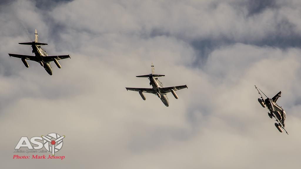 Hawks peel for landing at Queenstown