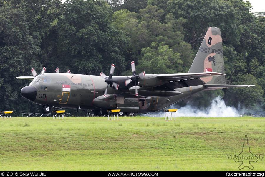 A Joyride C-130 Hercules