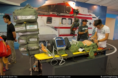 RSAF Humanitarian Assistance and Disaster Relief Missions exhibit