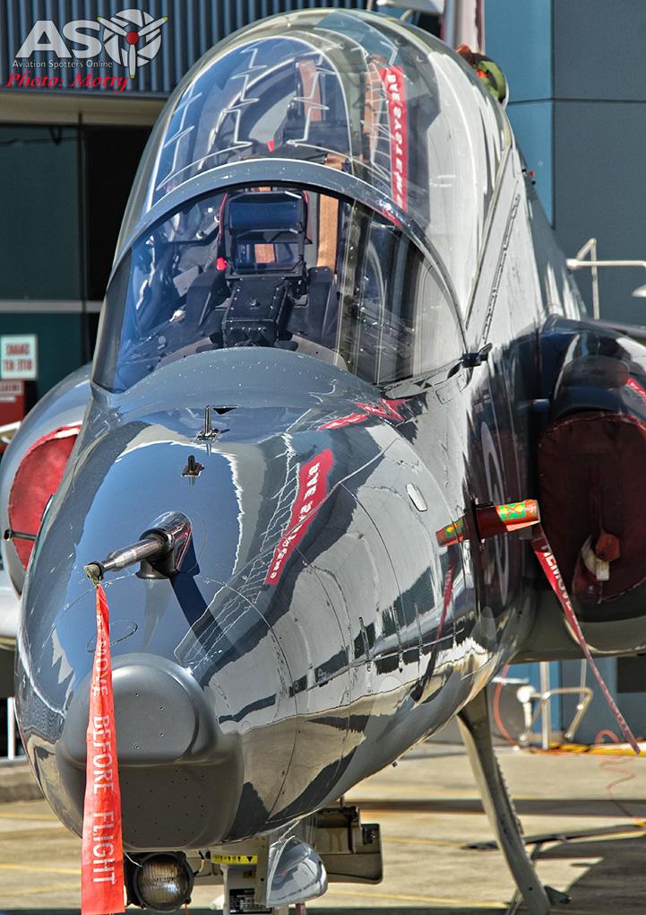 RAAF BAE SYSTEMS HAWK 127 100,000 hours Williamtown 02