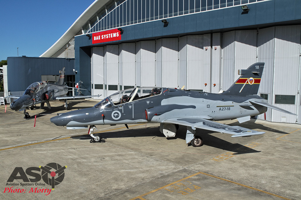 RAAF BAE SYSTEMS HAWK 127 100,000 hours Williamtown 06