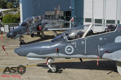 RAAF BAE SYSTEMS HAWK 127 100,000 hours Williamtown 08