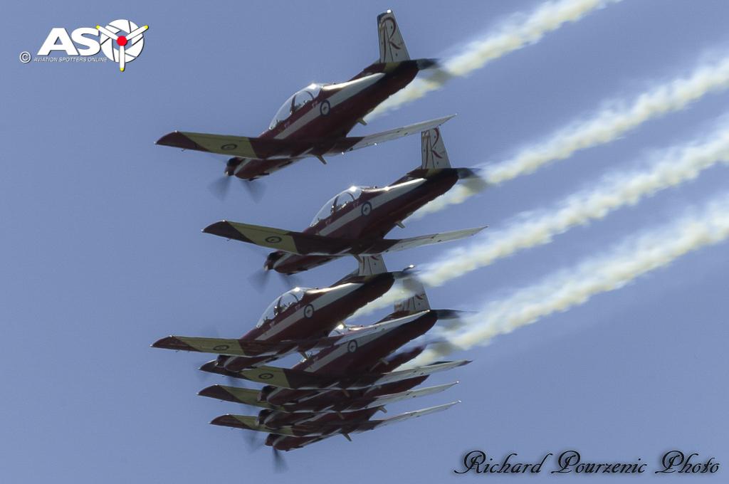 RAAF PC9 Roulettes