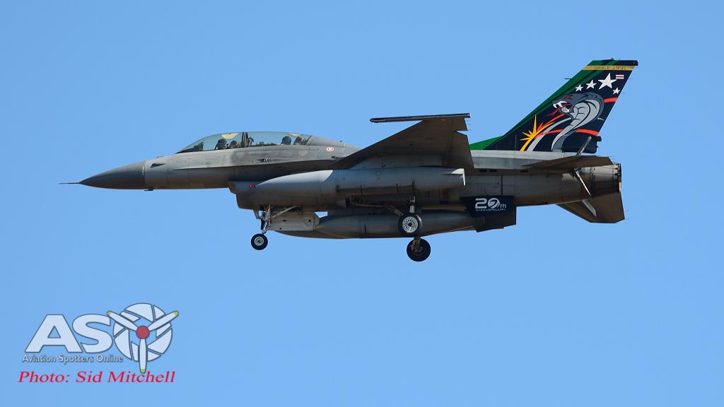 Royal Thai Air Force F-16D , 403 SQN