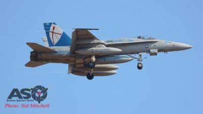 "F/A-18C of VMFA-122 ""Werewolves"""