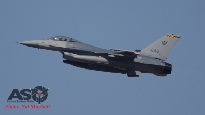 """RSAF F-16C of 143Sqn """"Pheonix"""" (yellow chequered tail flash)"""
