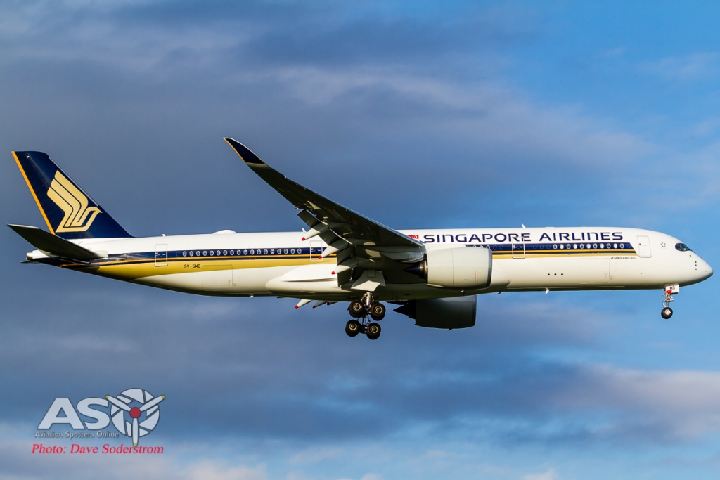 9V-SMD Singapore Airlines Airbus A350-900 (1 of 1)
