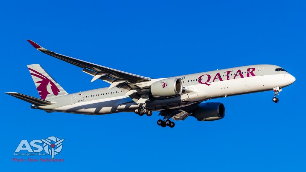 A7-ALB QATAR Airbus A350 ASO (1 of 1)