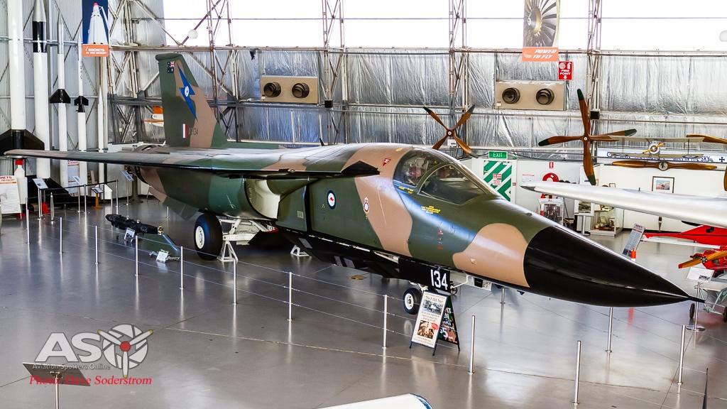 A8-134 General Dynamics F-111C SAAM ASO (1 of 1)