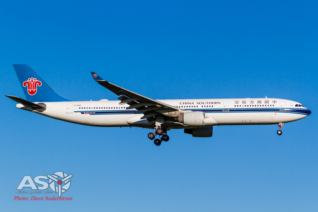 B-5940 China Southern Airbus A330-300 ASO HR (1 of 1)