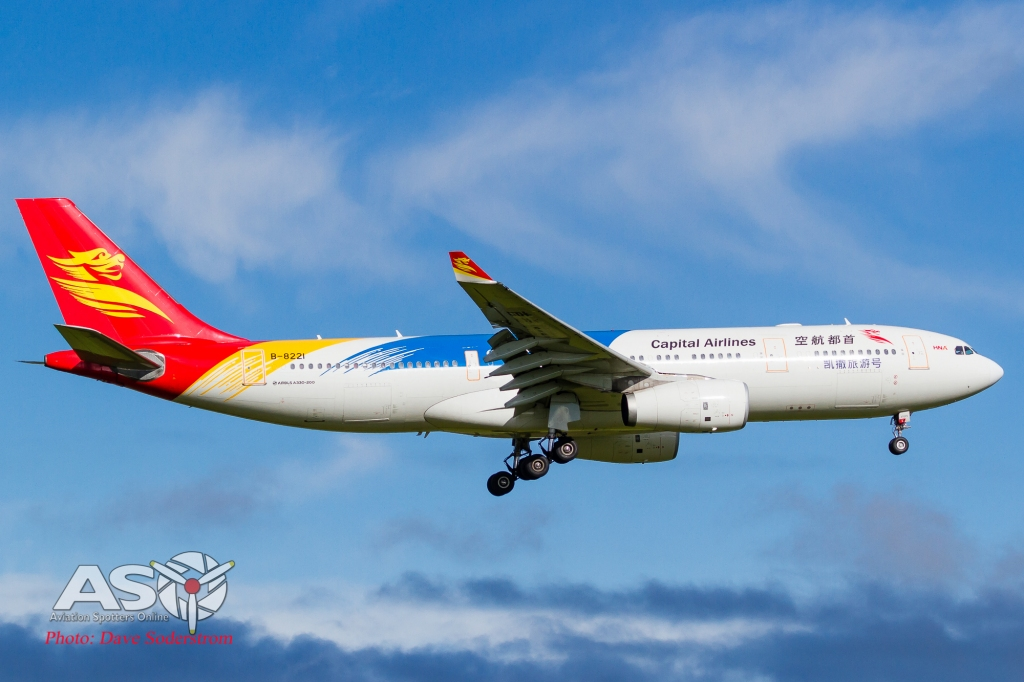 B-8221 Airbus A330-243 Beijing Capital Airlines ASO 2 (1 of 1)