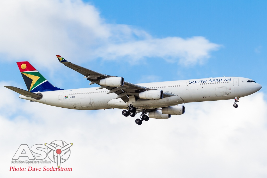 ZS-SXC South African A340-300 ASO HR 1 (1 of 1)