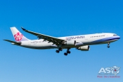 B-18359 China Airlines Airbus A330-300 Landing (1 of 1)