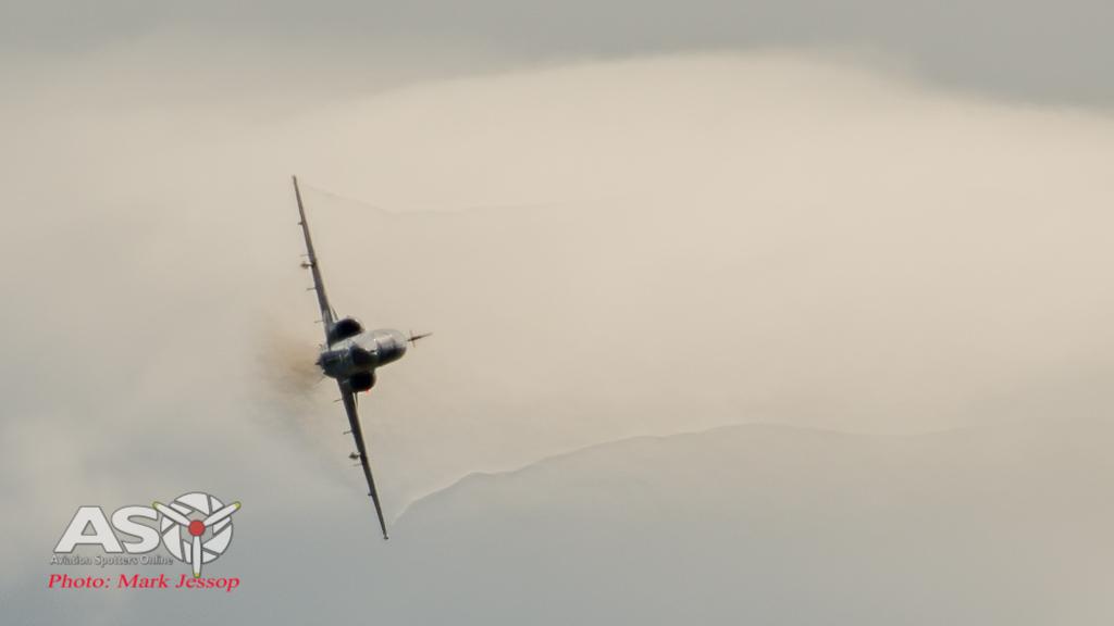RAAF Hawk on the hunt