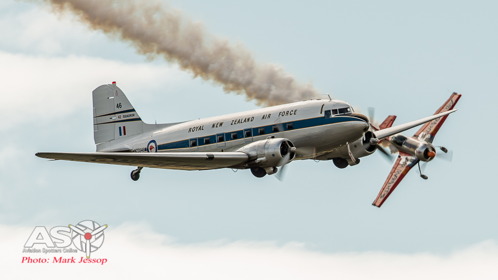 DC-3 about to get barrel rolled