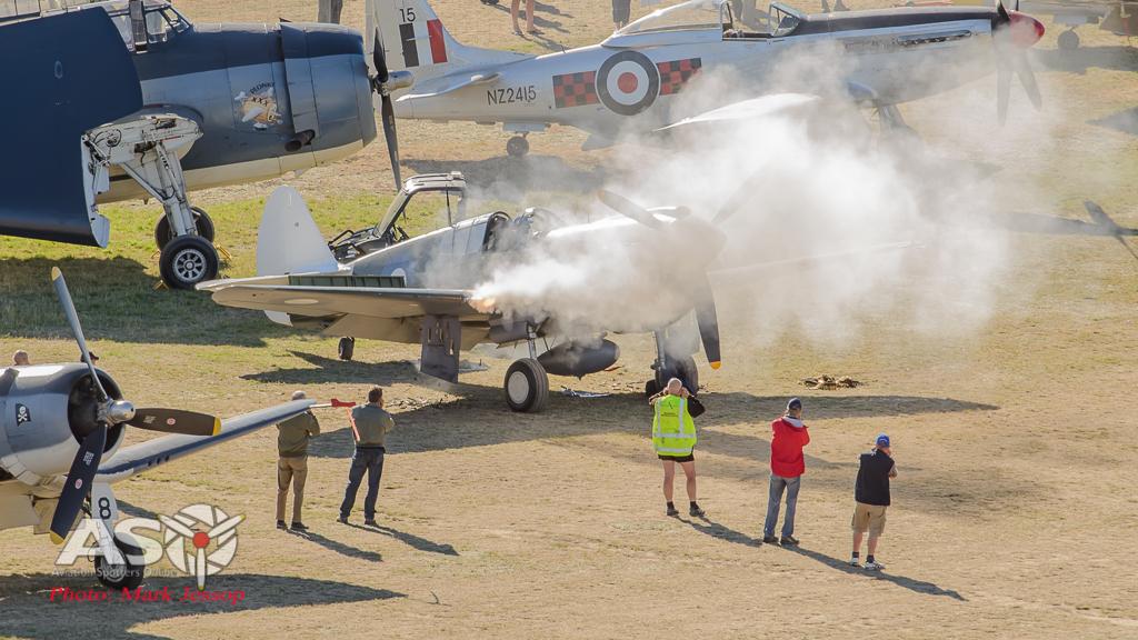 P-40 Guns get a quick test run