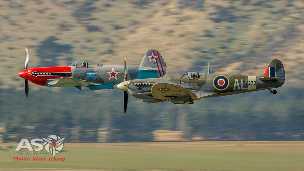 Yak 3 and the Spitfire