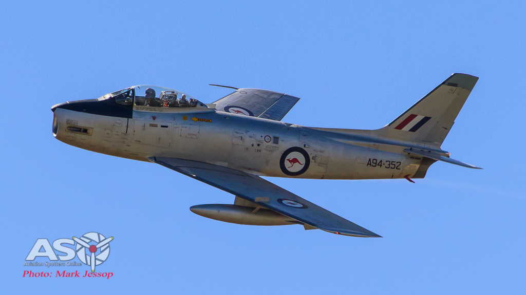 CAC Sabre is always an welcome sight in the skies.