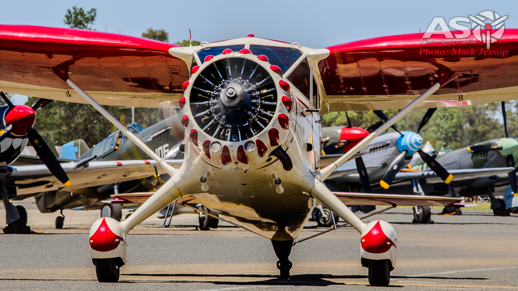 Stinson Reliant in all her glory.