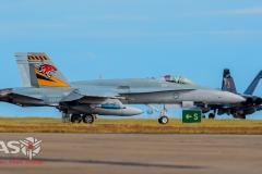 F/A-18A Hornet A21-26 2OCU 70th Anniversary Tail.