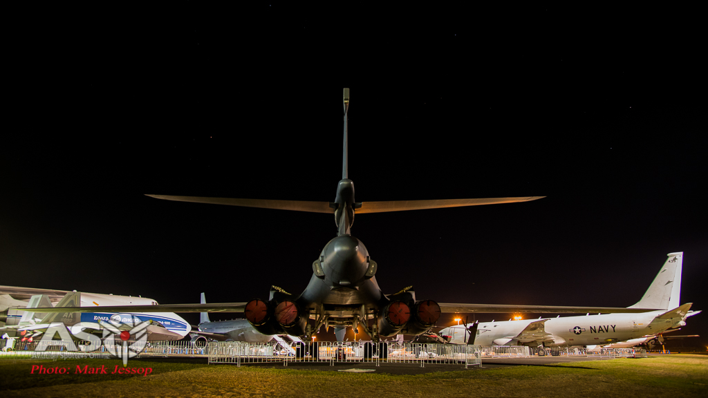 USAF B-1B waiting to come out and play. Nikon D800, ISO 100 , 1/8th at f.4