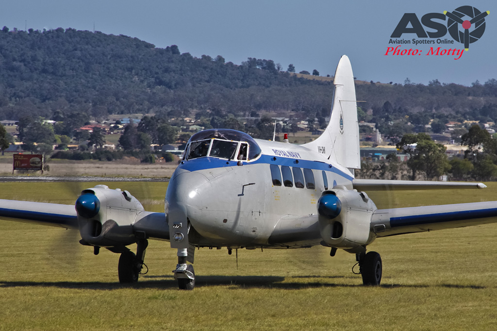 Mottys AWAL Kingaroy 2015 DH Dove VH-DHI 0030